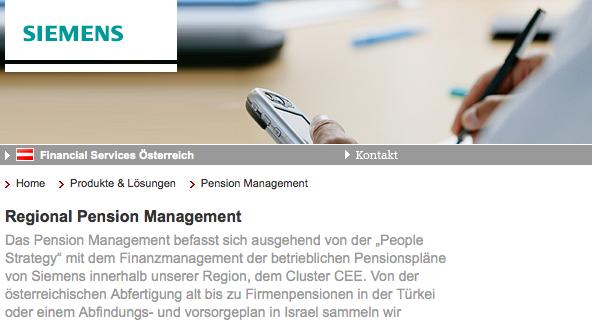 Siemens finance - Link