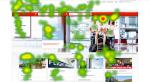 Austrian Airlines Heatmap
